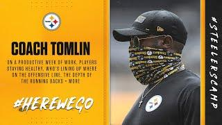 Steelers Virtual Camp Press Conference (Aug. 13): Coach Mike Tomlin | 2020 Training Camp