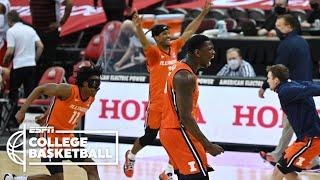 No. 4 Illinois comes up big late to beat No. 7 Ohio State [HIGHLIGHTS] | ESPN College Basketball