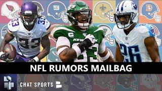 NFL Rumors Mailbag: Jamal Adams Latest? Logan Ryan Deal? Dalvin Cook Extension? Chris Jones Trade?