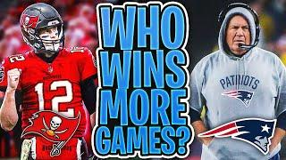 WHO WILL WIN MORE GAMES IN 2020… The Bucs with Brady or The Patriots Without Brady?