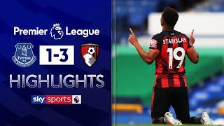 Bournemouth relegated despite win at Goodison Park | Everton 1-3 Bournemouth | EPL Highlights