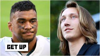 Should the Dolphins draft Trevor Lawrence if they get the No. 1 pick via the Texans? | Get Up