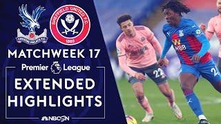 Crystal Palace v. Sheffield United | PREMIER LEAGUE HIGHLIGHTS | 1/2/2021 | NBC Sports