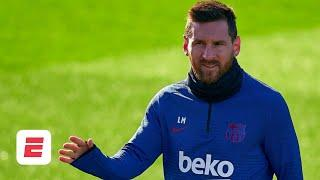 Lionel Messi needs proof of a plan in order for him to stay at Barcelona - Ale Moreno | ESPN FC