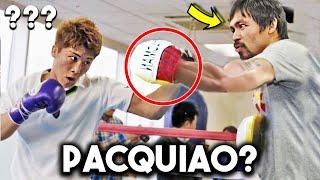 *LEAKED* INOUE NAOYA TRAINING CAMP for PACQUIAO OPPONENT JOHNRIEL CASIMERO! SPARRING, HEAVY BAG,PADS