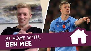 AT HOME WITH...   BEN MEE   Life At Home For Premier League Captain