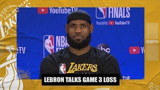 LeBron James says Jimmy Butler was phenomenal in Game 3 | 2020 NBA Finals