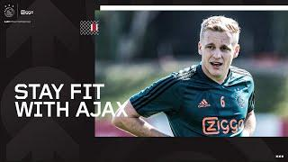 Stay Fit With Ajax – Workout #10 with Donny van de Beek