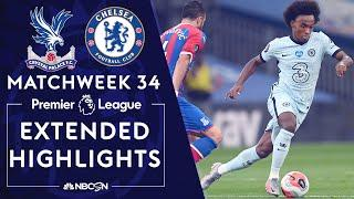 Crystal Palace v. Chelsea | PREMIER LEAGUE HIGHLIGHTS | 7/7/2020 | NBC Sports