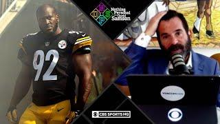 James Harrison puts Pittsburgh Steelers in TERRIBLE position | Nothing Personal with David Samson