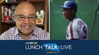 Darryl Strawberry remembers winning 1986 World Series with Mets   Lunch Talk Live   NBC Sports