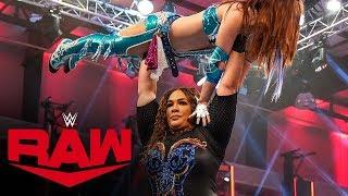 Kairi Sane vs. Nia Jax – Money in the Bank Qualifying Match: Raw, April 13, 2020