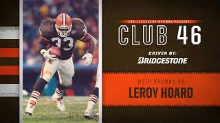 Leroy Hoard discusses his time with Belichick, Michigan, and Browns | Browns Club 46