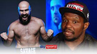 Dillian Whyte names the ONE fighter he wants Alen Babic to fight next!