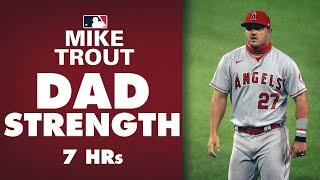 Mike Trout has DAD STRENGTH | 7 homer since birth of his son