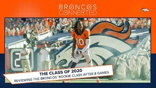 Rookie report card: Where the Broncos' 2020 draft class stands after 8 games   Broncos Connected
