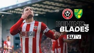 Tunnel Cam & Behind the Scenes | Sheffield United Vs Norwich City | Behind the Blades
