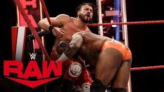 Andrade vs. Apollo Crews – United States Championship Match: Raw, April 27, 2020