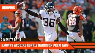 Browns Acquire Safety Ronnie Harrison from Jags   2 Minute Drill