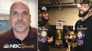 Lakers set up to be contenders for years to come with AD, LeBron extensions   PBT Extra   NBC Sports