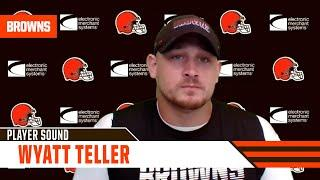 """Wyatt Teller: """"We're not hurting, and that's what's so beautiful about the backfield that we have."""""""