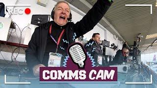 SPECIAL GUEST ROSS WALLACE | COMMS CAM | Burnley v Everton