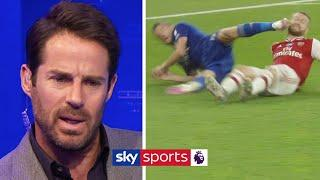 Should Jamie Vardy have been sent off? | Discussing VAR's decisions in Arsenal vs Leicester