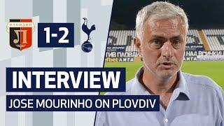 INTERVIEW | JOSE MOURINHO ON PLOVDIV WIN