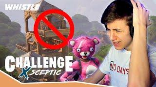 Can A Fortnite Pro Win WITHOUT Building!? | Sceptic CHALLENGE