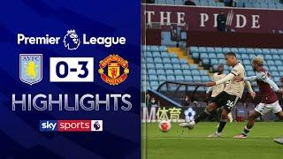 Greenwood scores stunner as Red Devils close in on top 4 | Aston Villa 0-3 Man Utd | EPL Highlights