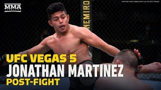 Jonathan Martinez Told Frankie Saenz 'Stay Down' After Two Knockdowns At UFC Vegas 5 - MMA Fighting