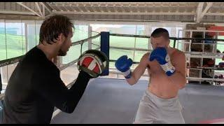 BACK AT IT! JOSH TAYLOR IN CAMP WITH COACH BEN DAVISON / EXPLOSIVE PAD WORKOUT IN FUERTEVENTURA