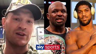 EXCLUSIVE! Tyson Fury on Anthony Joshua, Dillian Whyte & Deontay Wilder trilogy fight