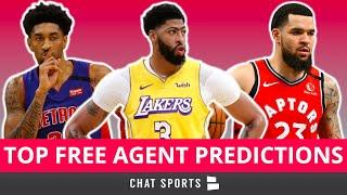 NBA Free Agency: Predicting Where The Top Free Agents Will Sign Ft. Anthony Davis & Brandon Ingram