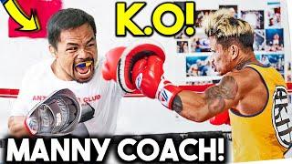 *NEW* CASIMERO LEAKED TRAINING CAMP WITH PACQUIAO TEAM for INOUE NAOYA-SPARRING, HEAVY BAG, STRENGTH