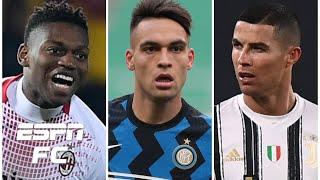 AC Milan, Inter Milan & Juventus ALL win: Will the Serie A title race go down to the wire? | ESPN FC