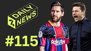Messi 'WILL BE' a PSG player + Real Madrid contact Poch!
