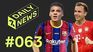 Barcelona's NEW defender + Ex-Bayern player in SHOCK return!  Daily News