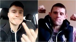 'DAFT C*** YOU'RE GETTING SMASHED' - *EXPLICIT* JOE LAWS & THOMAS BROADBENT EXCHANGE HEATED WORDS
