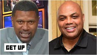 'No, no, no!' - Jalen Rose reacts to Charles Barkley's 'chip & a half' comments | Get Up