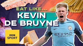 Cook Kevin De Bruyne's carbonara with a twist | EAT LIKE A PRO