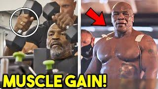 *WOW* MIKE TYSON STRENGTH TRAINING+ BODY TRANSFORAMTION *IN CAMP FOR ROY JONES JR*