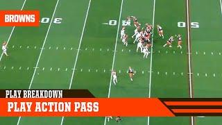 Play Breakdown: Play Action | Browns Live