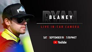Ryan Blaney LIVE Bristol in-car camera | NASCAR Playoffs at Bristol Motor Speedway