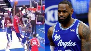 """LeBron James Called Out By Joel Embiid For Dirty Foul """"If It Was Me, I Would Have Been Ejected"""""""