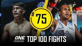 Danny Kingad vs. Muhammad Aiman | ONE Championship's Top 100 Fights | #75