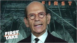 Paul Finebaum thinks other programs will follow UConn & cancel football season | First Take