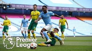 Raheem Sterling nets third Manchester City goal v. Norwich City | Premier League | NBC Sports