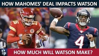 NFL Rumors: How Deshaun Watson's Contract Extension Is Impacted By Patrick Mahomes & Dak Prescott