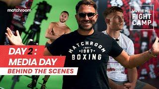 Fight Camp: Week 1, Day 2 - Eggington vs Cheeseman (Behind The Scenes) Media Day